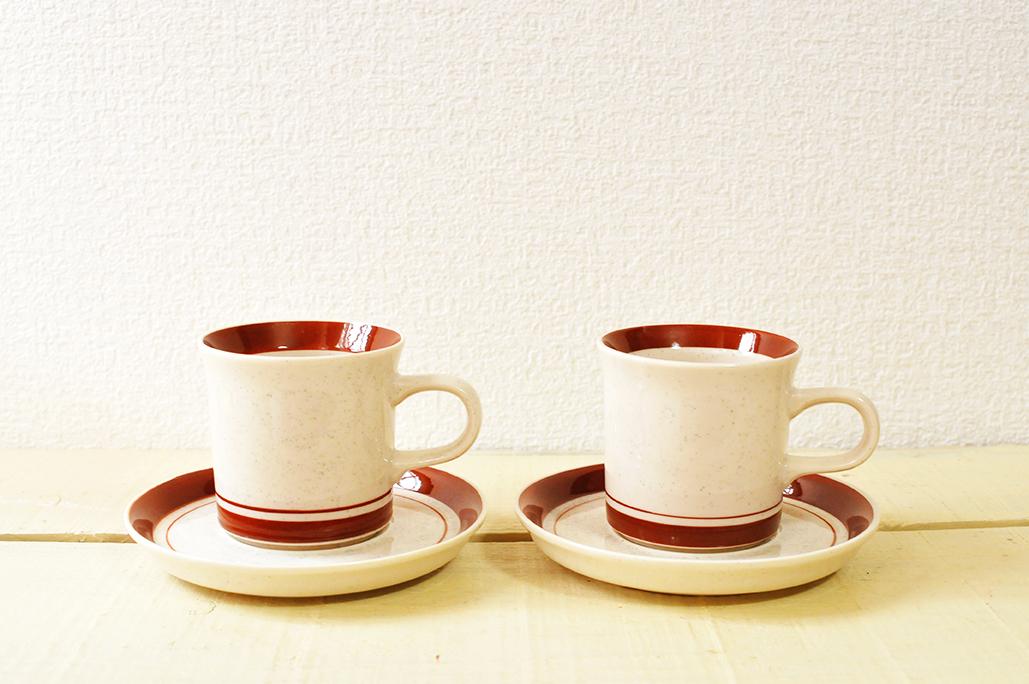 20円だったコーヒーカップセット-リサイクルショップ食器コーナーのススメ