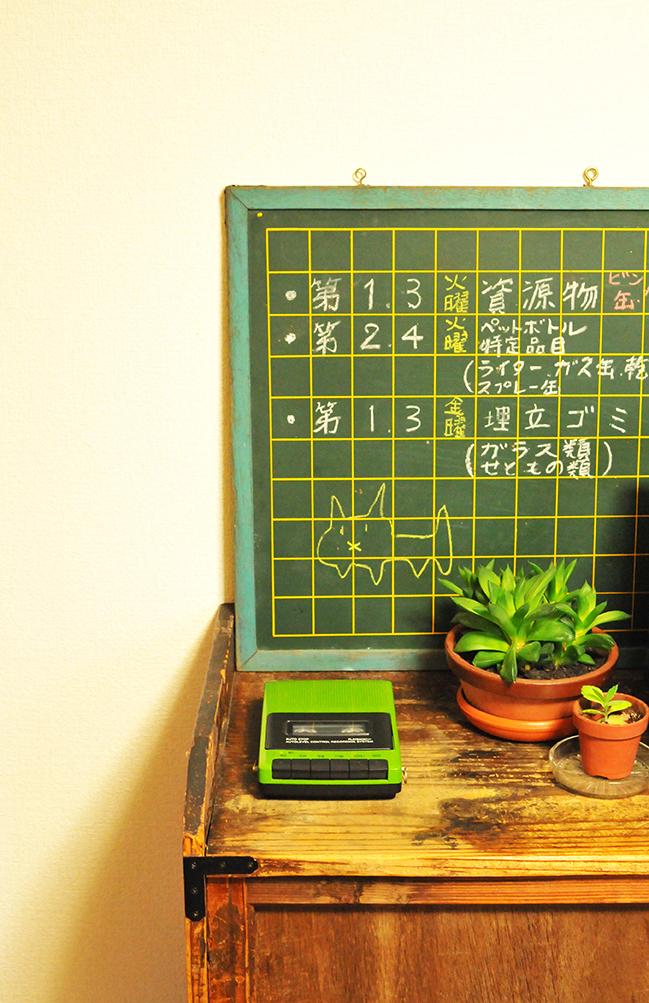 ボイスメッセージレコーダーとしてキッチンに置いて楽しく使うレコーダー