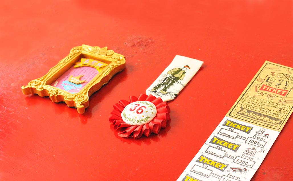 夫への贈り物3点セットは全て小さな手作り工作品
