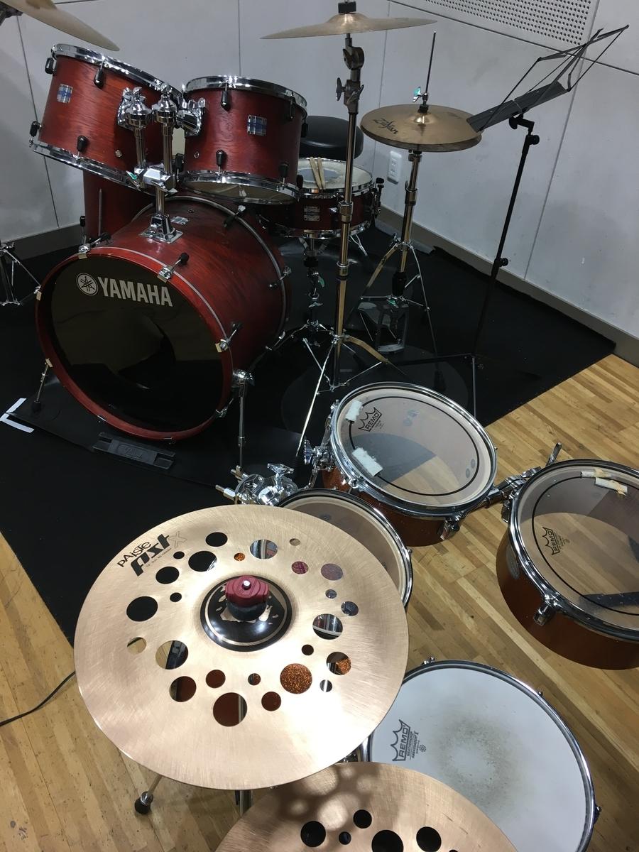 三田市、北区ドラム教室の様子
