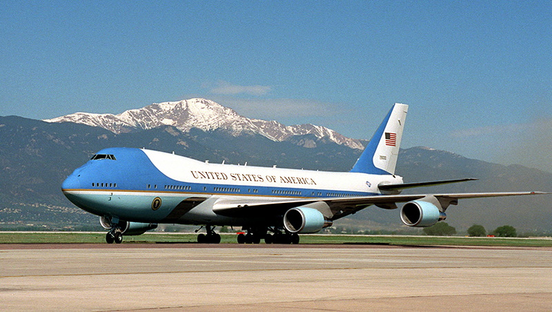 Boeing 747-200B | Air Force One(The White House)
