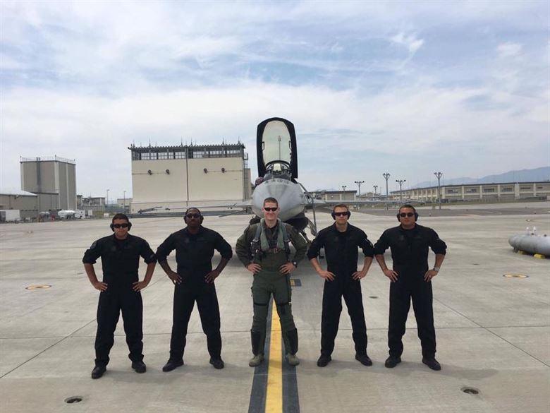 PACAF F-16 Demo Team(USAF Miasawa AB)