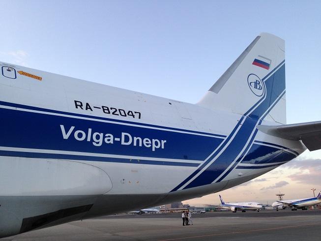 航空機登録記号は「RA-82047」