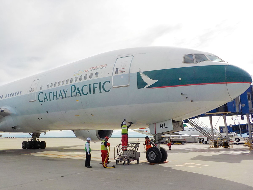 The 1st Boeing 777 | B-HNL(Photo by Cathay Pacific)