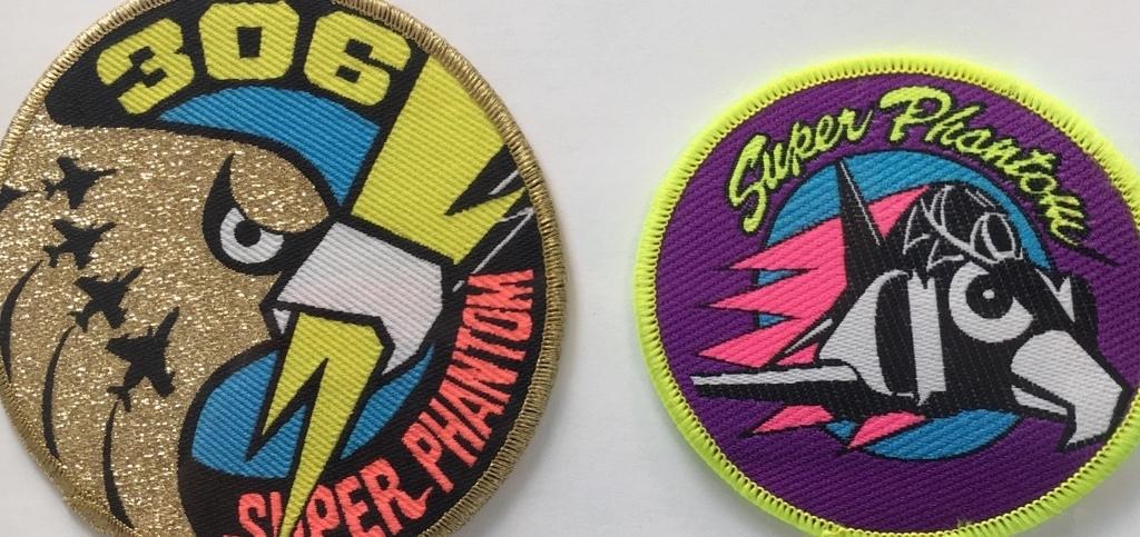 小松基地第306飛行隊「Super Phantom」パッチ