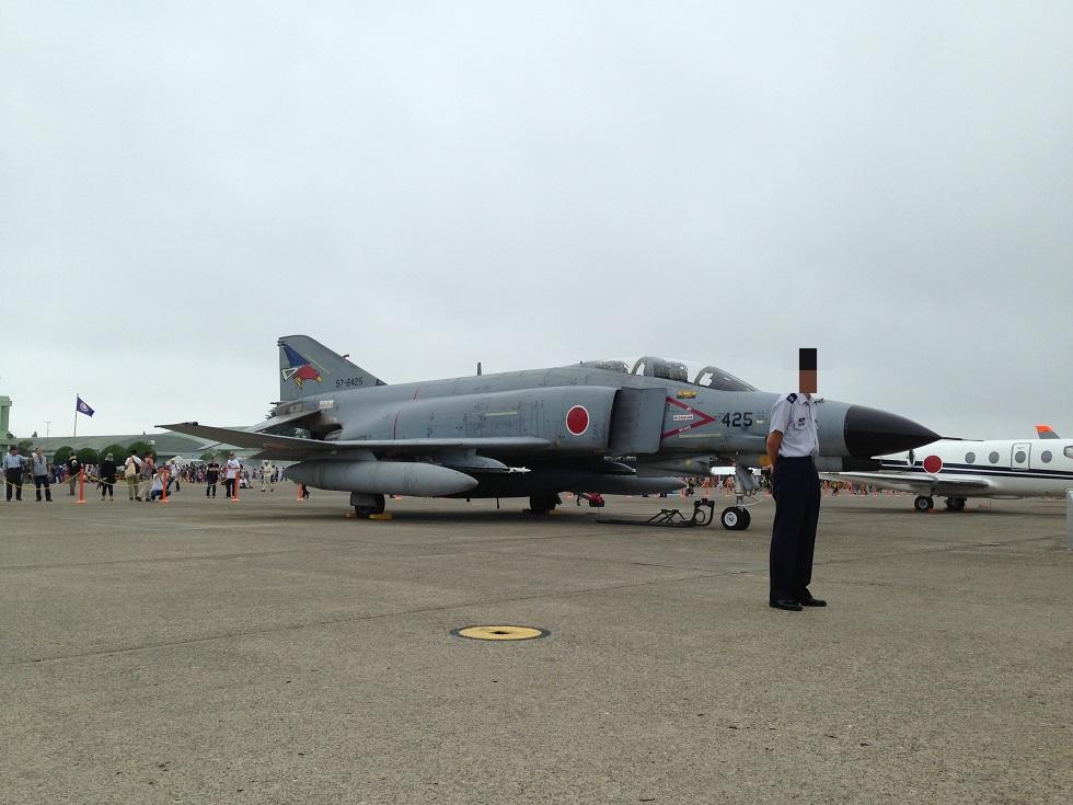 F-4ファントム@百里「機体番号:97-8425」
