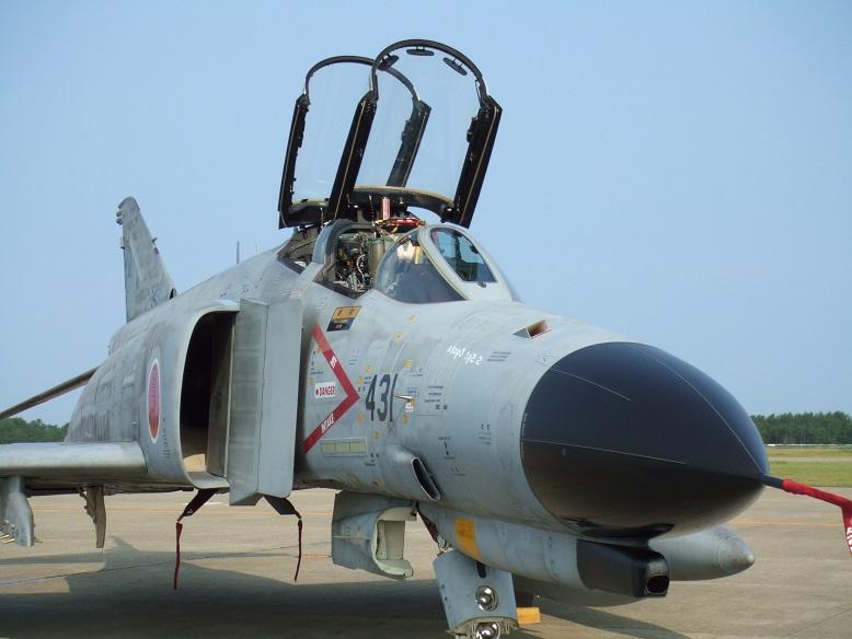 F-4ファントム@小松「機体番号:07-8431」