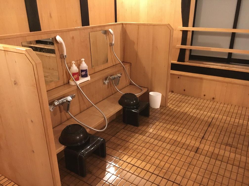 比咩の湯・貸切風呂「木立の蔵」