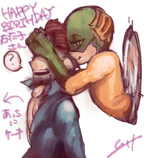 某方への誕生日ブーミラさん