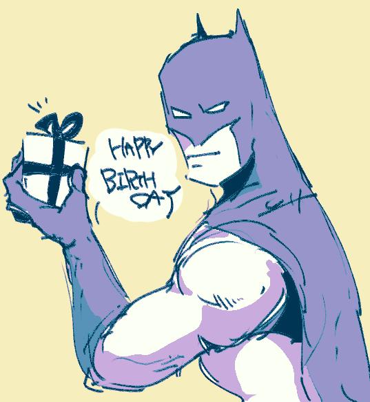 某方への誕生日に