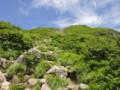 岩木山の登山道