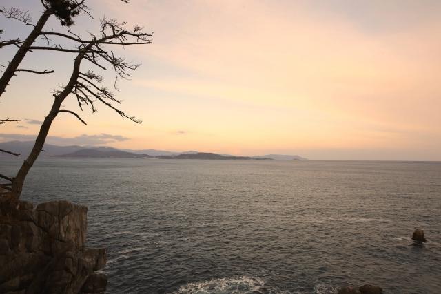東日本大震災から8年気仙沼の海