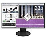 EIZO FlexScan 23.8インチ ディスプレイ モニター (フルHD/IPSパネル/ノングレア/ブラック/5年間保証&無輝点保証) EV2451-RBK