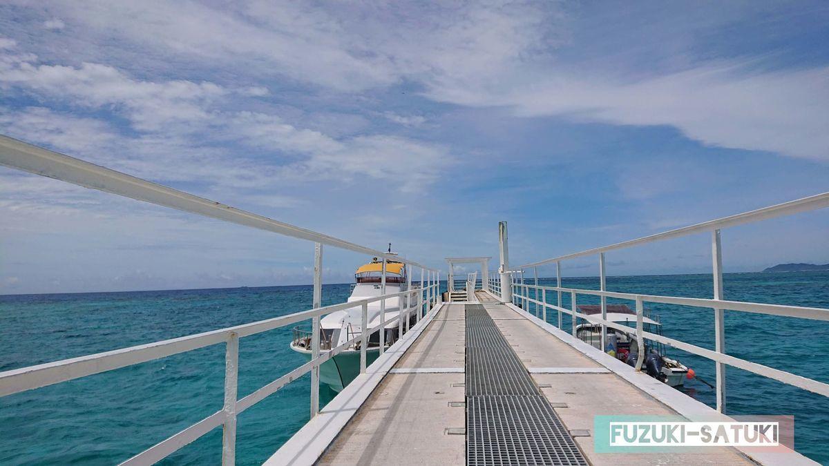 ナガンヌ島の船着き場の写真