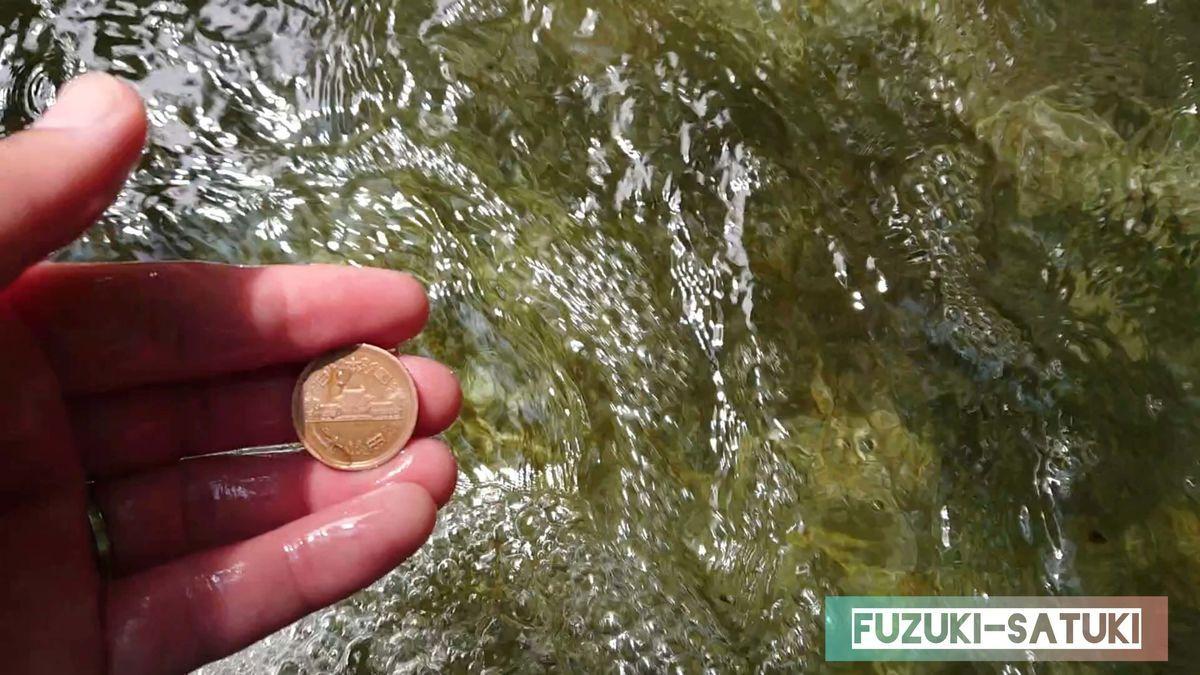 10円玉が少し輝きを増したように見える。