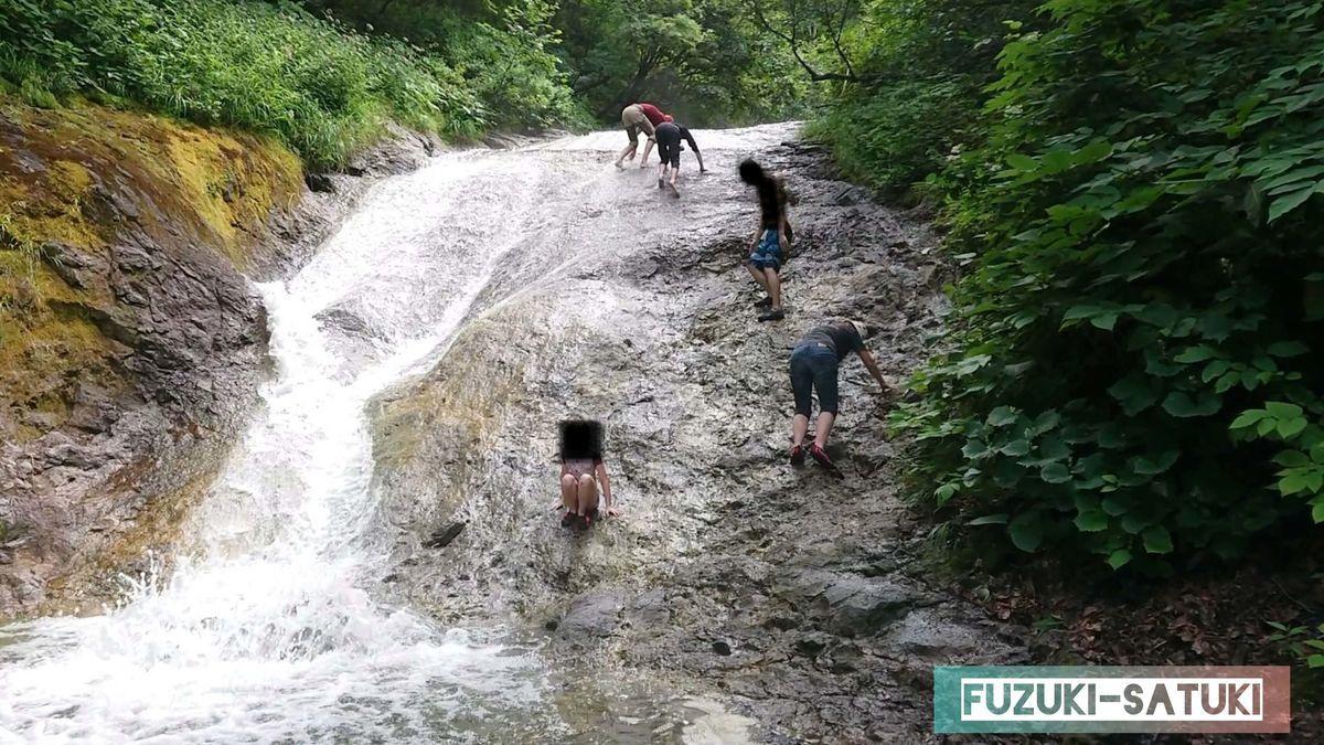 滝登りは登りよりも下りが危険