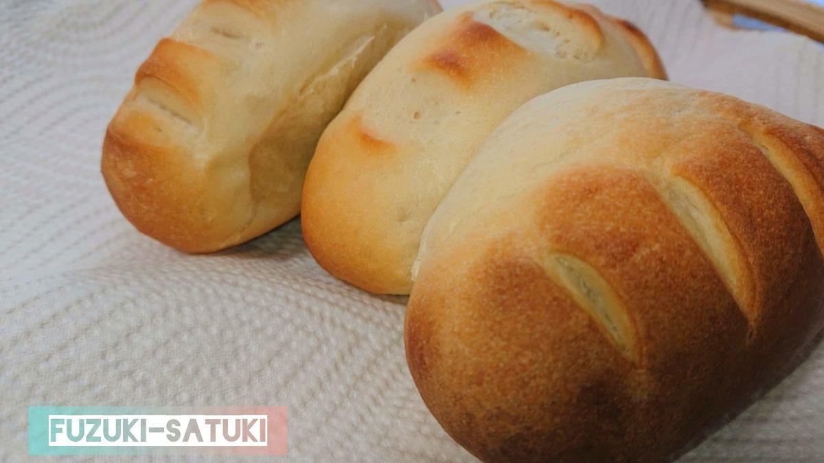 嫁のさつき手作りの「ハイジのパン」。これが出来上がるまでに、色んなパンが出来上がりましたとさ。