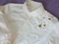 ハチ刺繍1