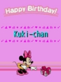 Happy Birthday, Kuki-chan