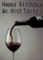Happy Birthday, Mr. Nick Carty