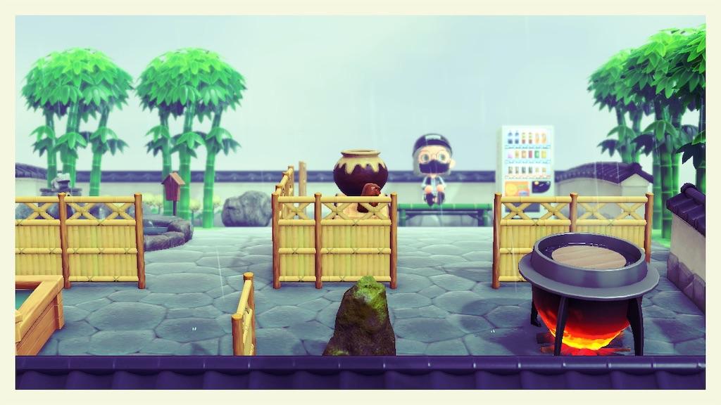 温泉 あつ 街 家具 森 【あつ森】和風エリアの作り方と和風島のレイアウト一覧【あつまれどうぶつの森】