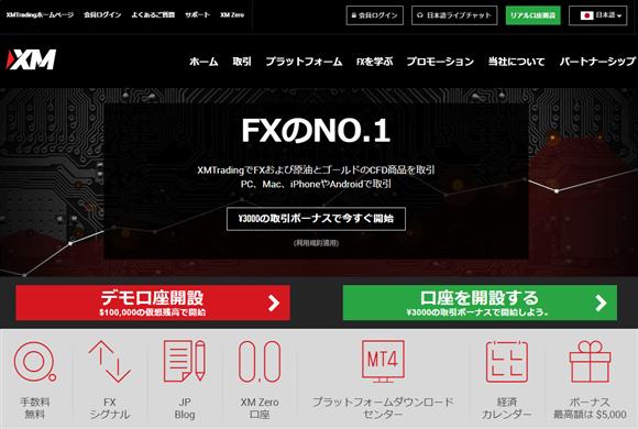 XMポイントのXM口座を開設