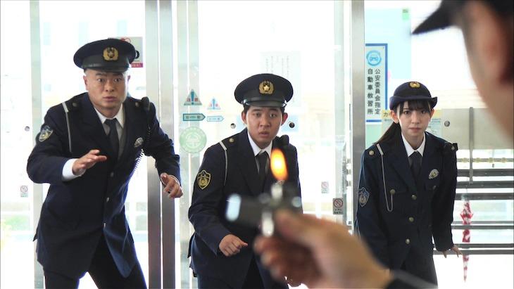 金村美玖が「THE突破ファイル『自衛隊&突破交番 絶体絶命SP』」に警官役として初出演