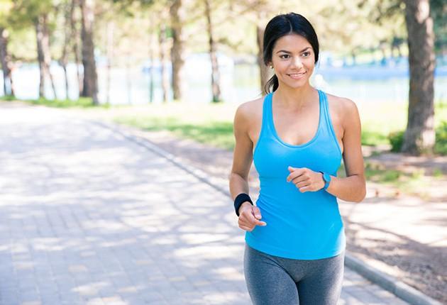 運動。ジョギング。