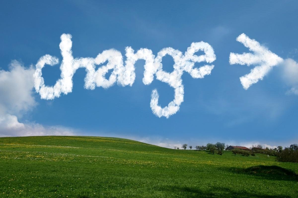 change、変える
