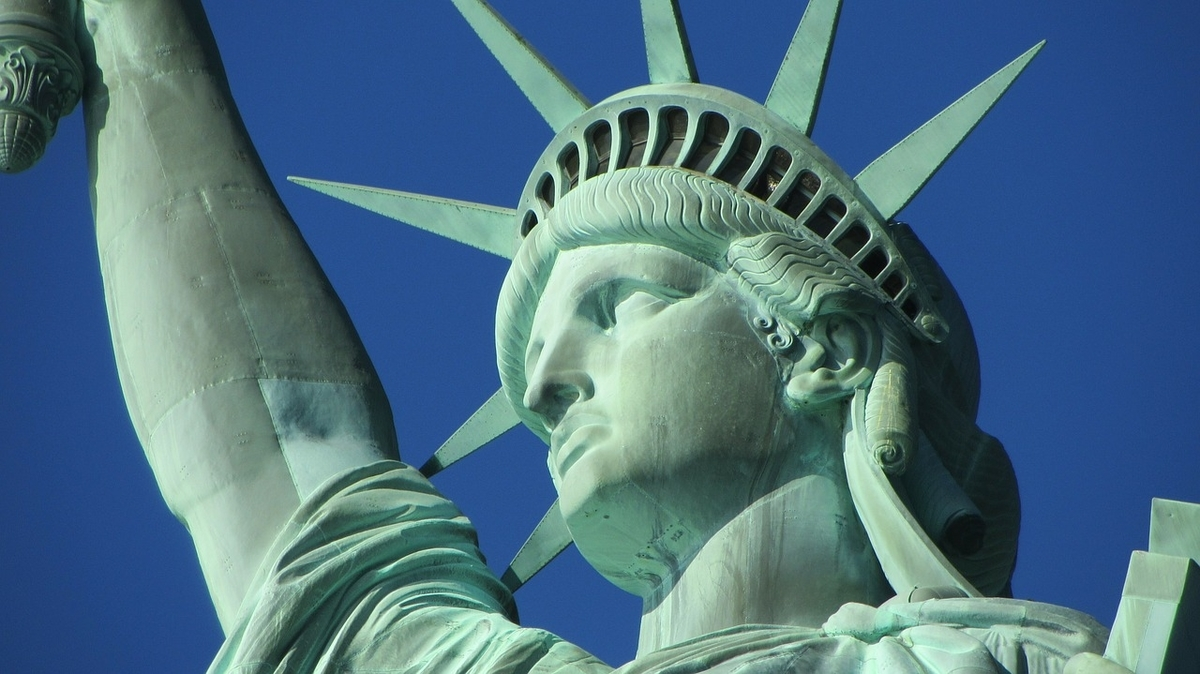 米国の自由の女神