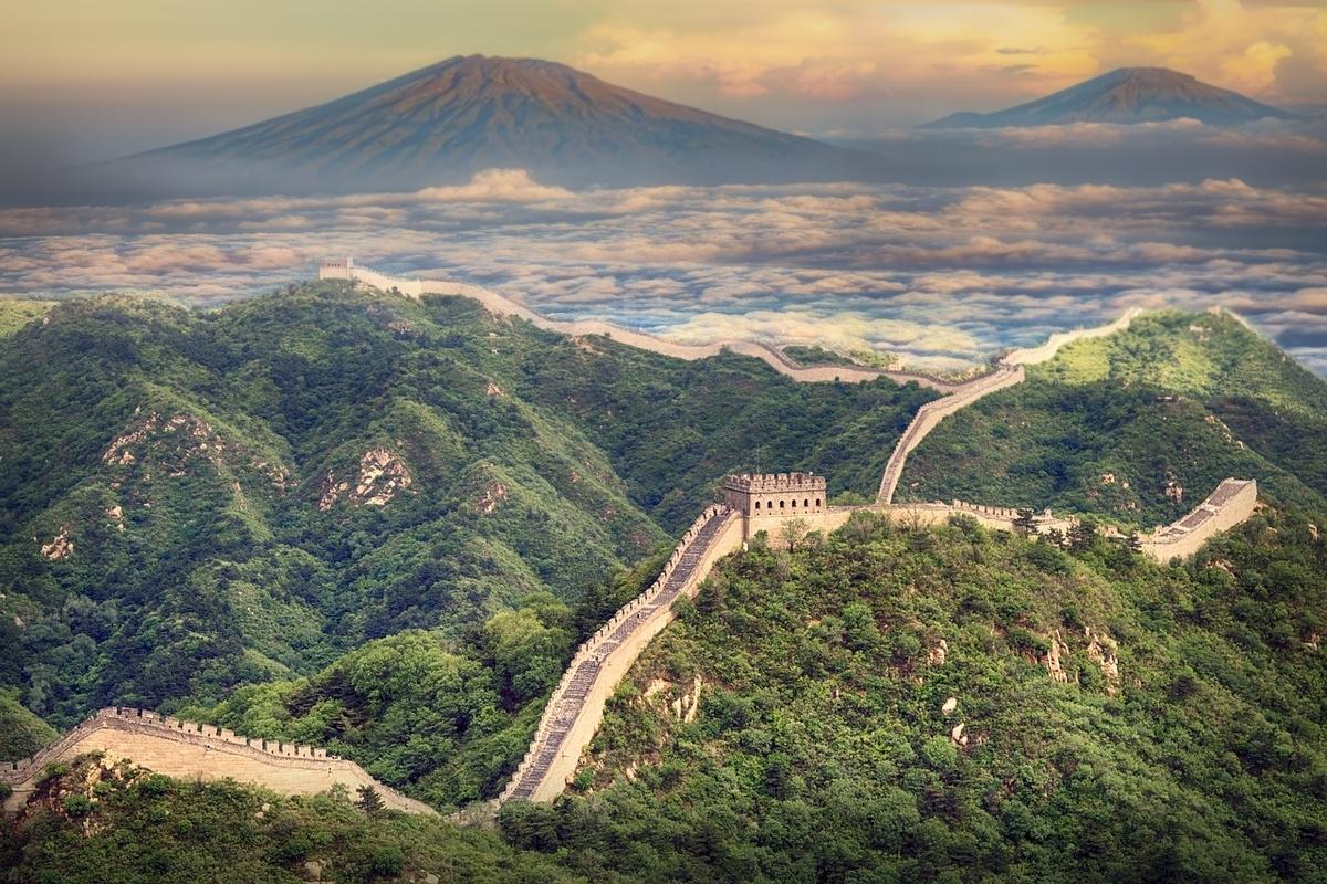 中国の万里の長城