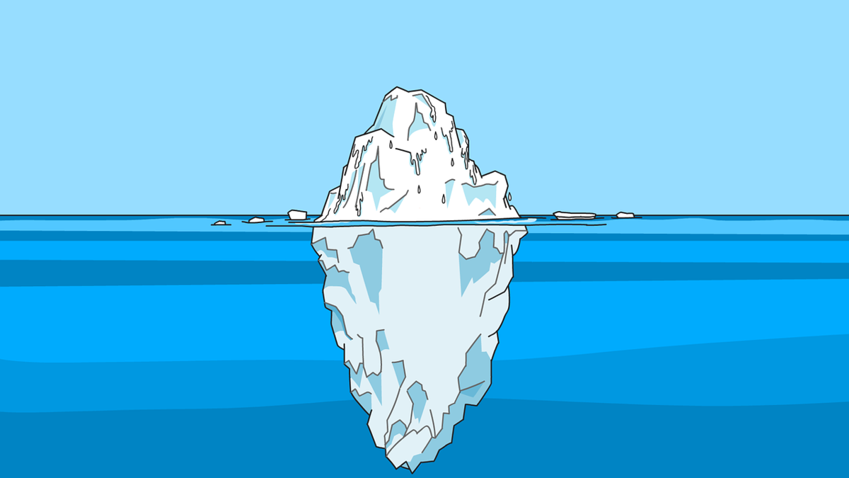 氷山の一角 潜在的ニーズ