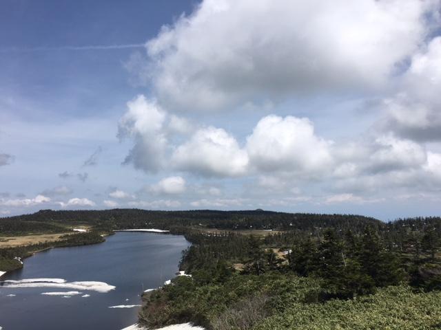 八幡平の景色