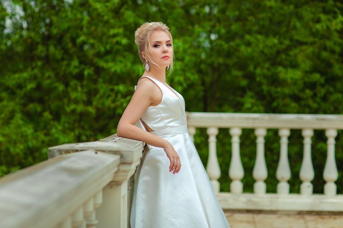 自慢げな花嫁