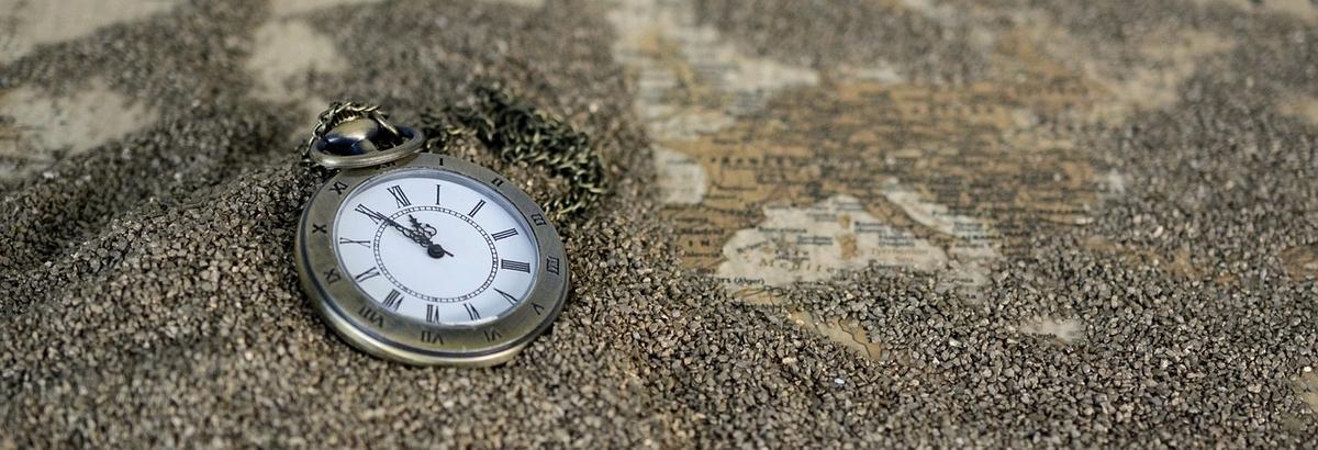 時計。時間。