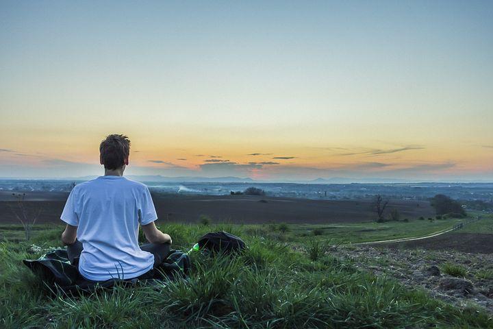解放。悟り。瞑想。