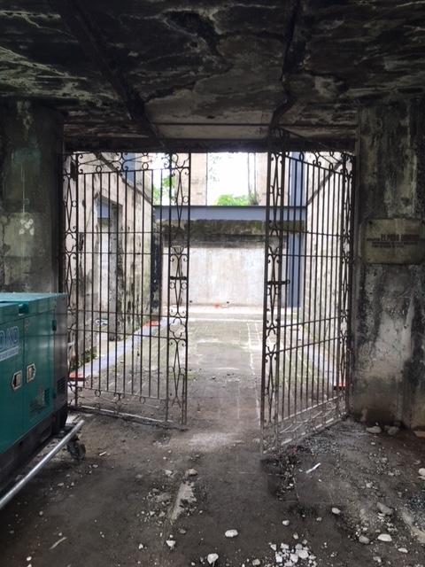 サンチャゴ要塞 牢屋
