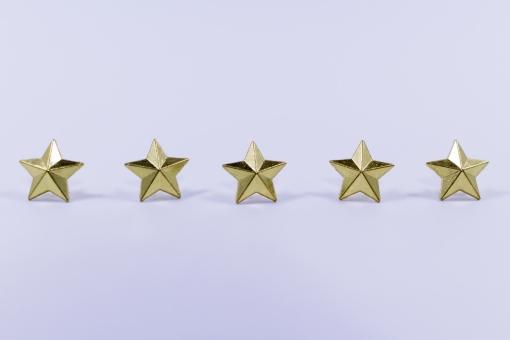 メリット,五つ星