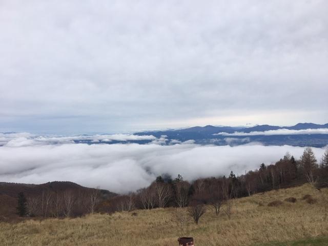 美ヶ原高原美術館の景色