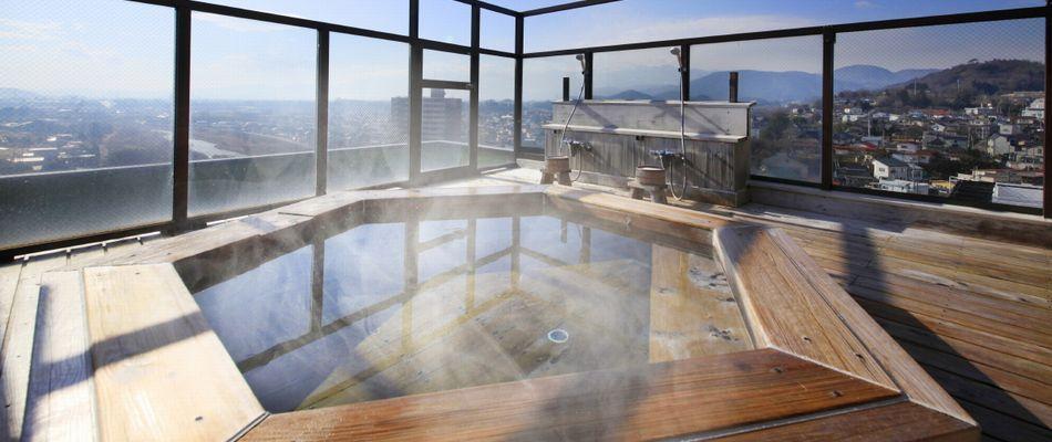 展望露天風呂の写真