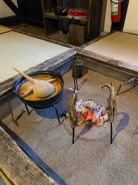 お鍋と焼き魚