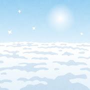 輝いている空