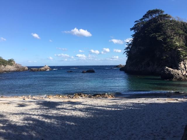 式根島の海