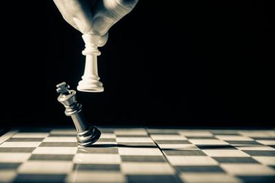 チェスで相手を倒す