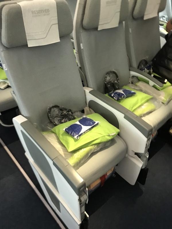 フィンエアーA350エコノミー座席