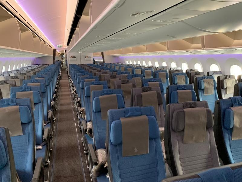 シンガポール航空SQ655エコノミークラス