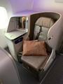 SQ655 ビジネス座席