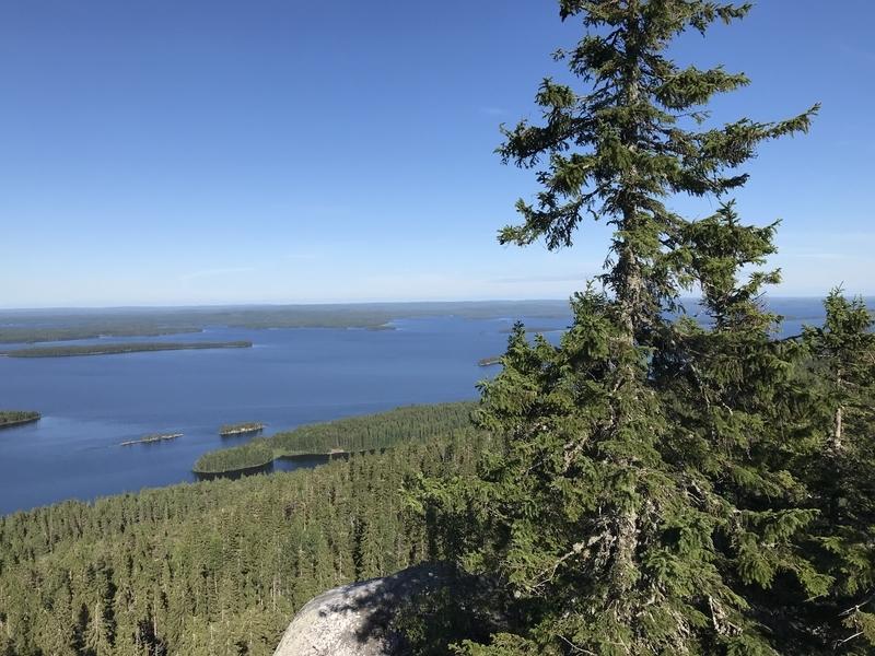 コリ国立公園湖ビュー