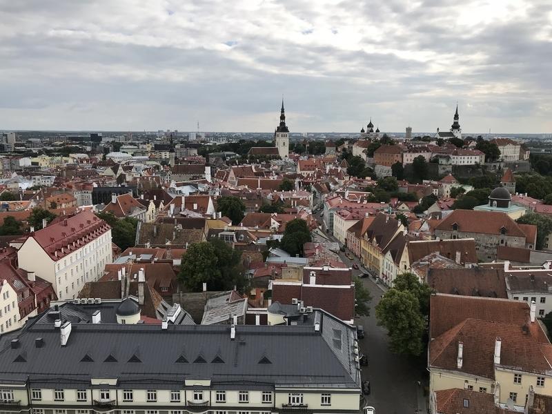 聖オレフ教会からの眺め