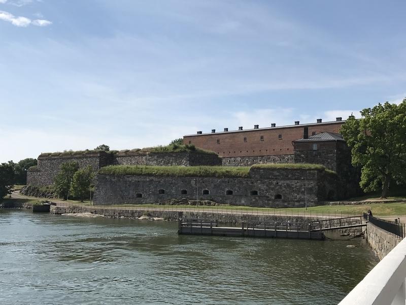スオメンリンナの要塞跡